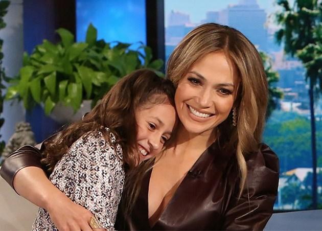 Jennifer Lopez treedt samen op met haar dochter
