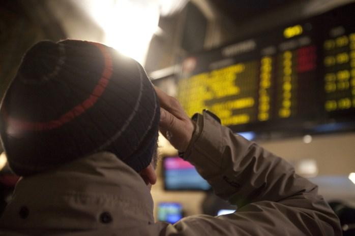 Nog tot deze middag verstoring op spoorlijn Antwerpen-Brussel door stroomonderbreking