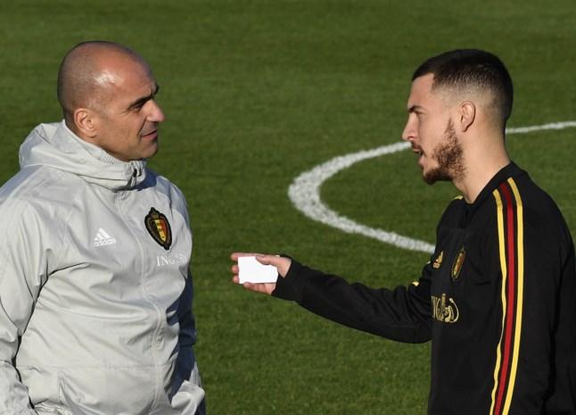 """Bondscoach Roberto Martinez verwacht veel van Hazard bij Real: """"Eden zal Spaanse voetbal veranderen"""""""
