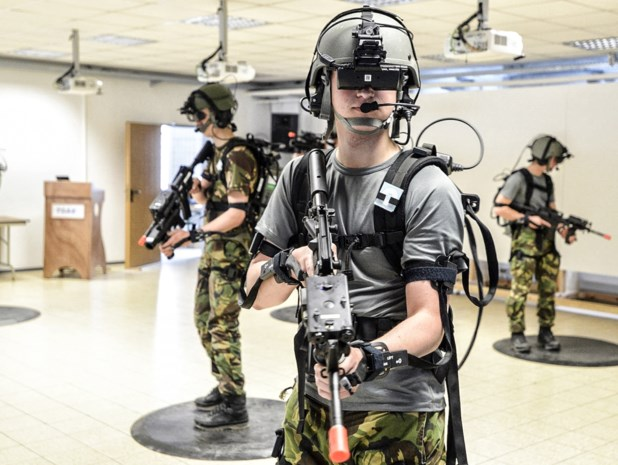 Amerikaanse en Nederlandse militairen trainen nu al virtueel