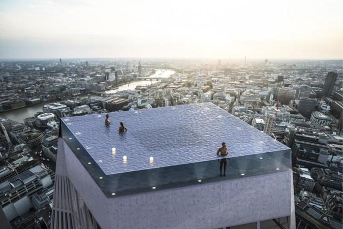 Londen krijgt eerste infinity pool van 360°
