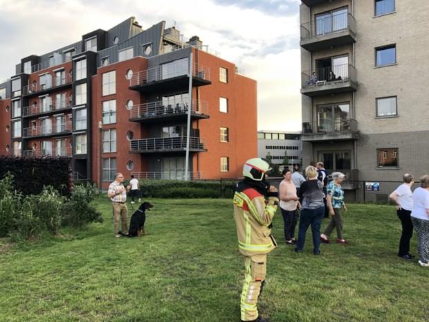 Dertig bewoners geëvacueerd bij brand in ondergrondse garage
