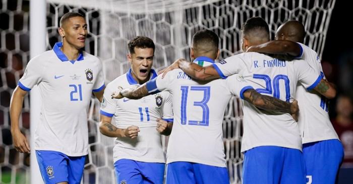 Brazilië opent Copa America in eigen land met winst tegen Bolivia