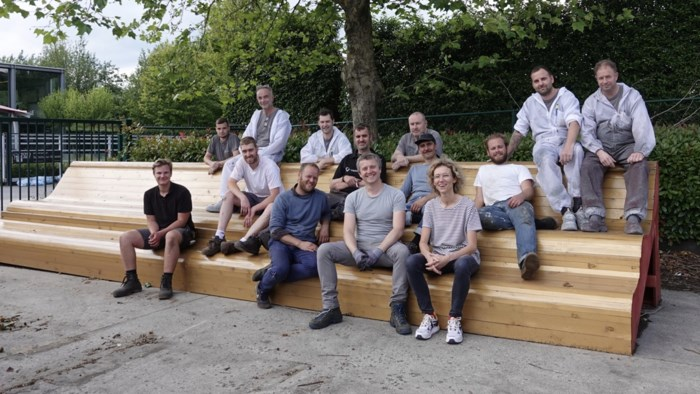 """Houtatelier Meeusen maakt reuzenkader voor levend schilderij: """"Te zien in Londen, Antwerpen en Parijs"""""""