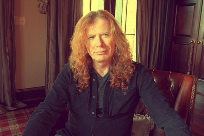 Voorman Dave Mustaine van metalgroep Megadeth heeft keelkanker