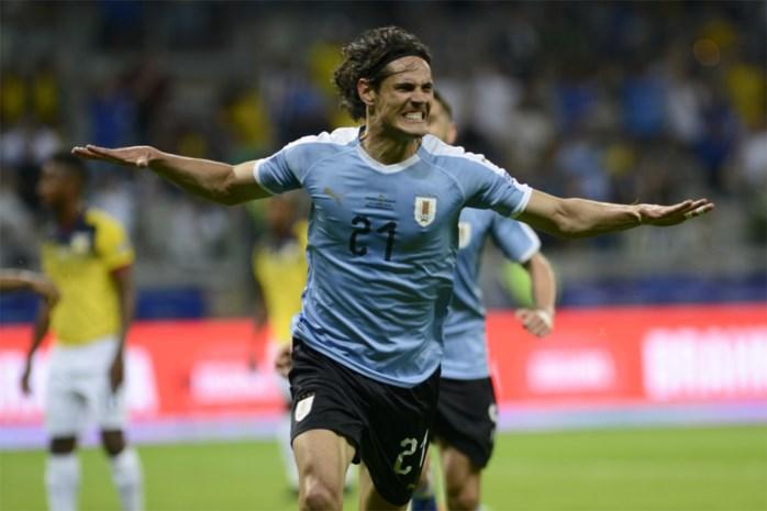 Uruguay start met simpele zege tegen Ecuador aan Copa America