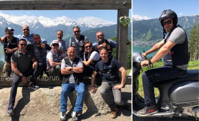 Stabroekse Vesparijder terug naar Oostenrijkse plek waar hij bijna leven liet