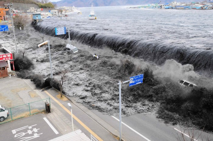 Tsunami-alarm in Japan na zware aardbeving