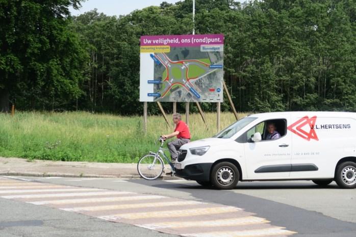 Aanleg rotonde Ternesselei in Wommelgem begint op 6 augustus (maar Groen wil plannen bijsturen)
