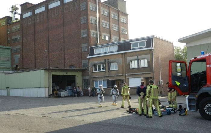 Brandweer neutraliseert chemische reactie