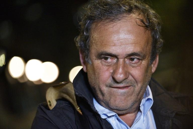 """Michel Platini opnieuw vrij na verhoor over toewijzing van WK voetbal aan Qatar: """"Veel lawaai voor niets"""""""