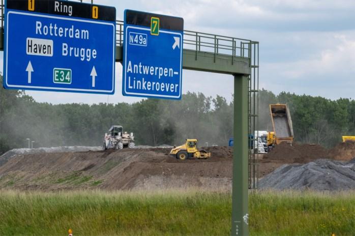 Bij aanleg Oosterweel wordt genoeg zand opgegraven om Antwerpen te bedekken