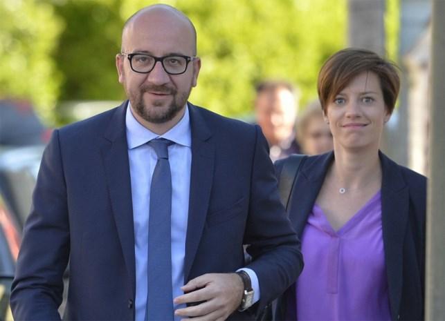 Tweede kindje voor Charles Michel en vriendin Amélie