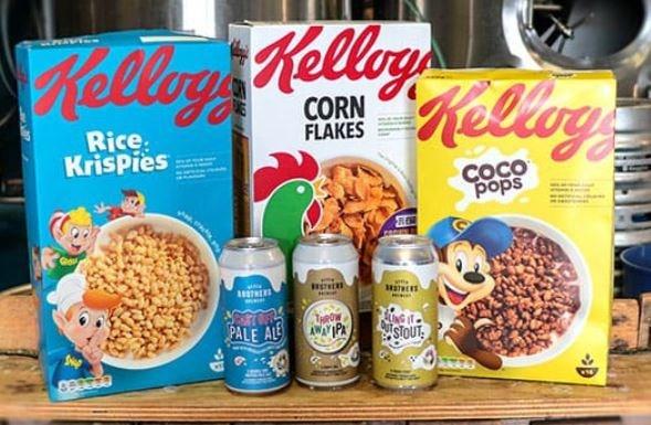 Kellogg's maakt bier van ontbijtgranen