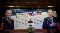Partij van Turkse president Erdogan lijdt historische verkiezingsnederlaag