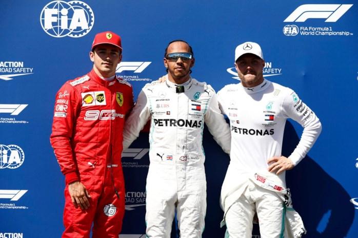 GP van Frankrijk: startgrid