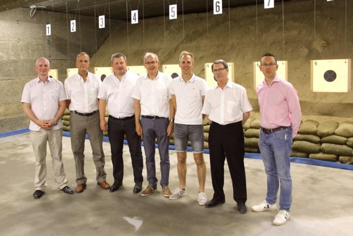 Olympische schietbaan op Heiveld geopend