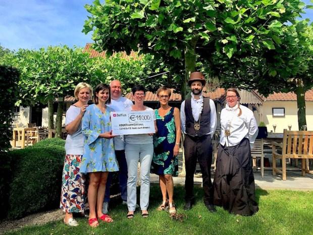 Aspergediner brengt 11.000 euro op voor Kinderkankerfonds
