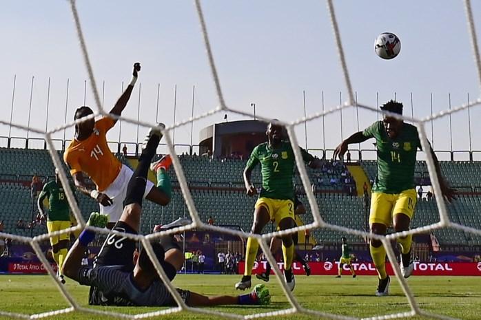 Ivoorkust wint op Afrika Cup met kleinste verschil van Zuid-Afrika, Tunesië en Angola spelen gelijk