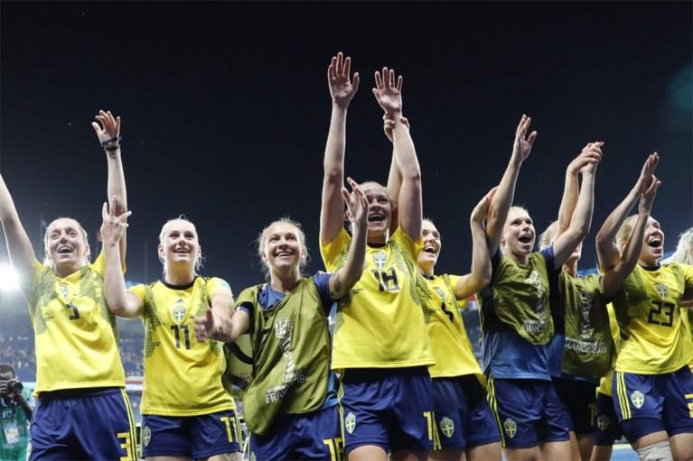 Amerikaanse topfavoriet op WK vrouwenvoetbal door dankzij twee strafschoppen, ook Zweden wint zuinig
