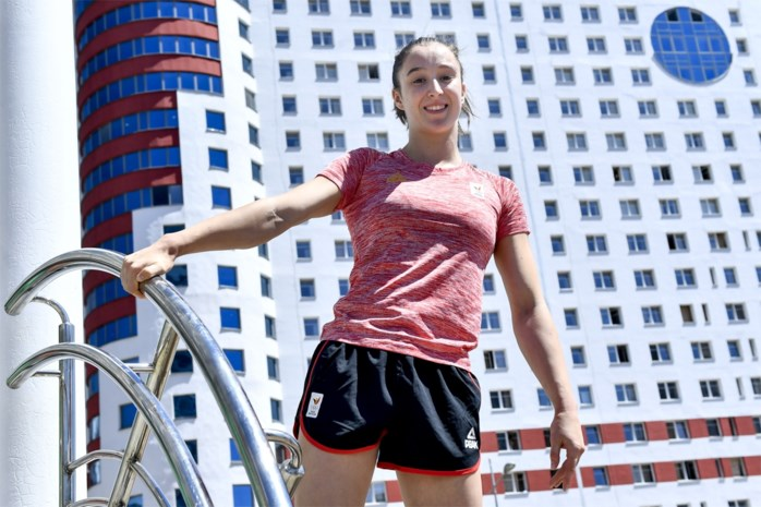 """Wereldkampioene Nina Derwael op de Europese Spelen: """"Ik ben nog niet in topvorm, maar wel op de goede weg"""""""