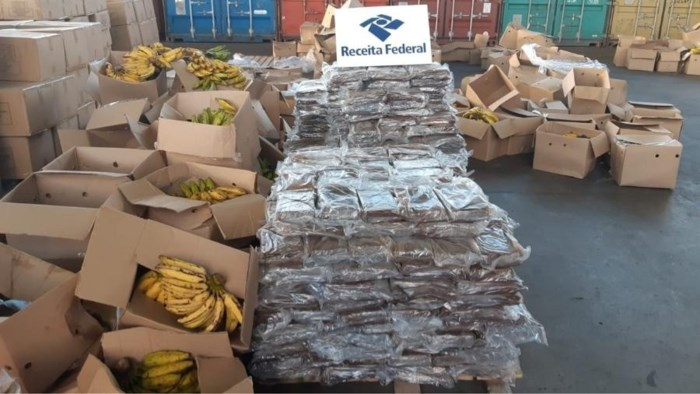 808 kilo cocaïne voor Antwerpen onderschept in Brazilië