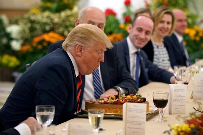 """Kim Jong-un stuurt """"erg vriendelijke"""" verjaardagswensen naar Trump"""