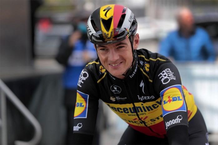 """Yves Lampaert over zijn jaar in tricolore: """"De erkenning voor zo'n Belgische trui is leuk, maar alles errond niet"""""""