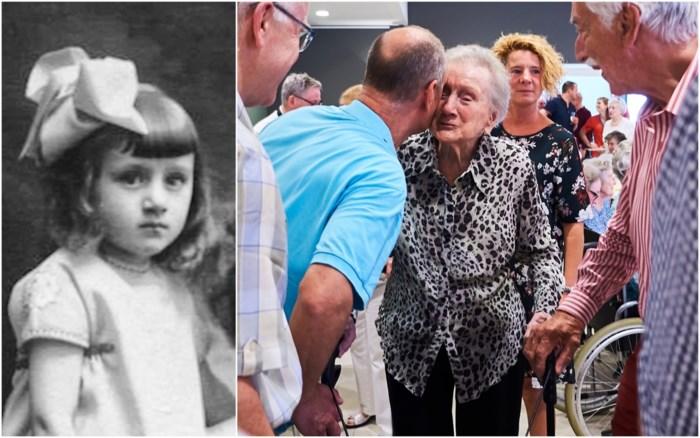 Als meisje van 2 jaar met Red Star Line verhuisd van Amerika naar Antwerpen, nu 100 jaar geworden