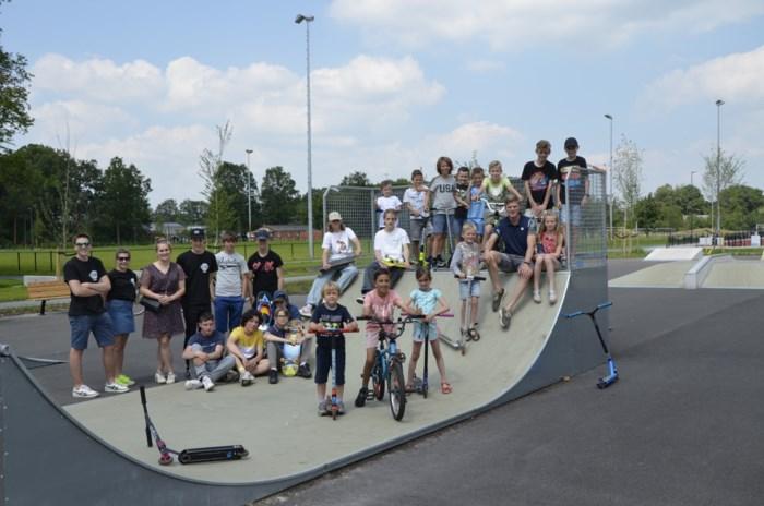 Nieuw skateterrein bij sporthal Gooreind