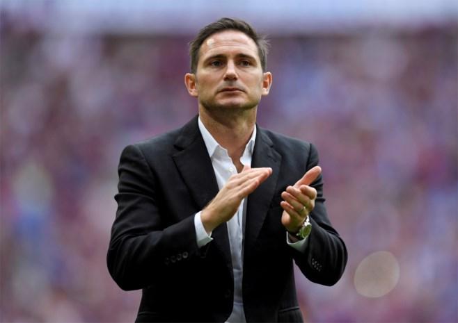 Frank Lampard op weg naar Chelsea