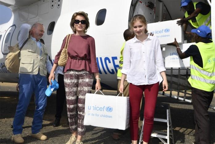 Verrassing: kroonprinses Elisabeth mee met koningin Mathilde op missie in Kenia