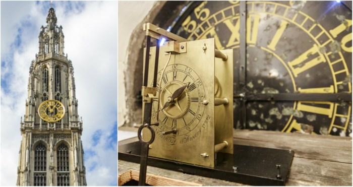 """Het kleine broertje van de kathedraalklok is te bewonderen: """"Een zeldzaam uurwerk en we zijn trots dat we dat hier hebben"""""""