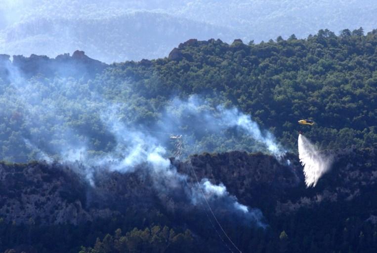 Bosbrand in Catalonië verwoest 3.500 hectare bos