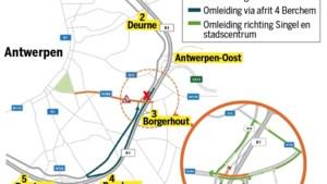 Vanaf 1 juli werken aan op- en afrittencomplex Ring in Borgerhout