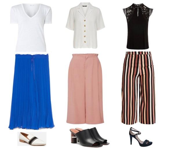 Deze outfits draag je tijdens een hittegolf op kantoor