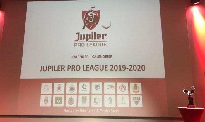 Bekijk hier de kalender van de Jupiler Pro League: voorlopig nog met KV Mechelen, Antwerp opent in Eupen