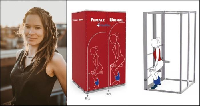 Het vrouwenurinoir komt eraan, en je kan het testen op Reggae Geel