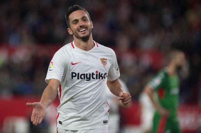 Spaanse spelmaker Pablo Sarabia verlaat Sevilla voor PSG