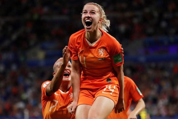 Nederlandse voetbalster die scoorde in halve finale komt uit de Kempen