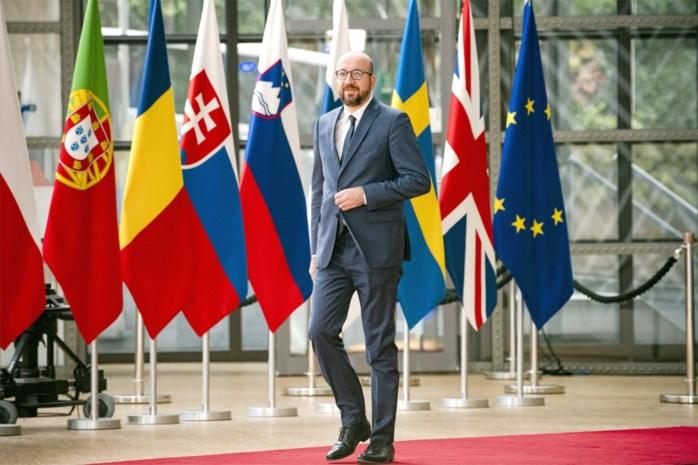President Michel: premier is kandidaat om voorzitter Europese Raad te worden