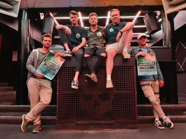 Drie vrienden lanceren nieuw techno-evenement in Club Vaag