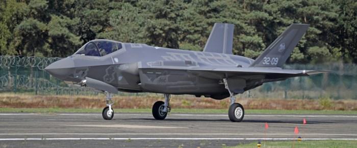 Luchtmachtbasissen moeten verbouwd worden voor F-35: 275 miljoen euro