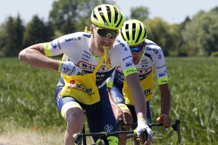 """Frederik Backaert trok het korte strootje in de Tour: """"Geen grap: Hilaire heeft ons liggen gehad"""""""