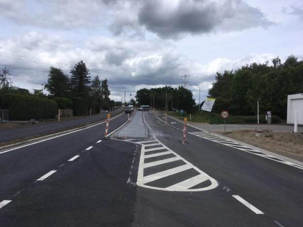 Liersebaan: opnieuw verkeer in beide richtingen over de brug