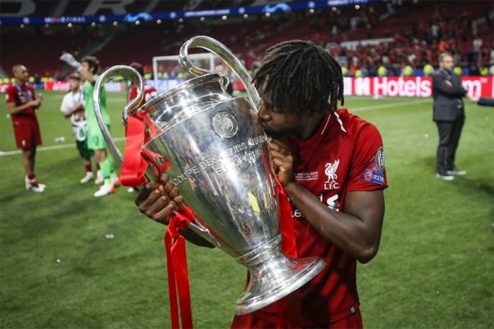 """Origi herneemt trainingen gewoon bij Liverpool: """"Winst Champions League smaakt naar meer"""""""
