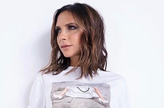 Victoria Beckham hint naar haar lijn schoonheidsproducten