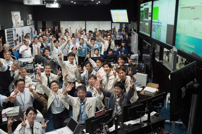 Japanse sonde Hayabusa-2 slaagt in nieuwe landing op asteroïde