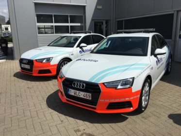 Politiezone investeert bijna 150.000 euro in snelle Audi's