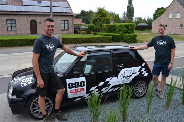 """Autoliefhebbers zien droom in vervulling gaan met deelname aan Budapest Rally: """"We hopen dat onze oude Renault het haalt"""""""